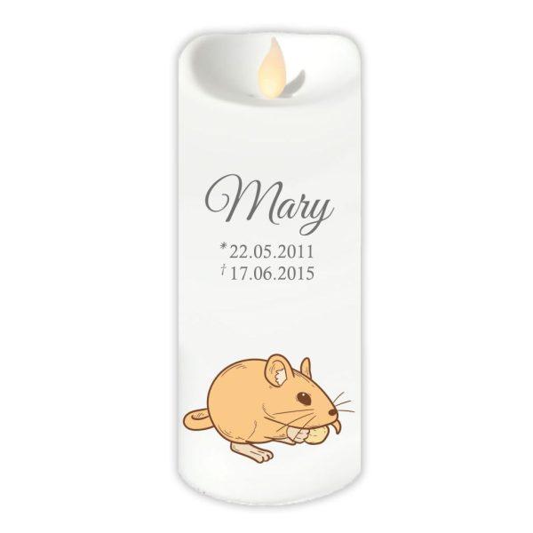 LED Kerze Twinkle für Tiere Nager
