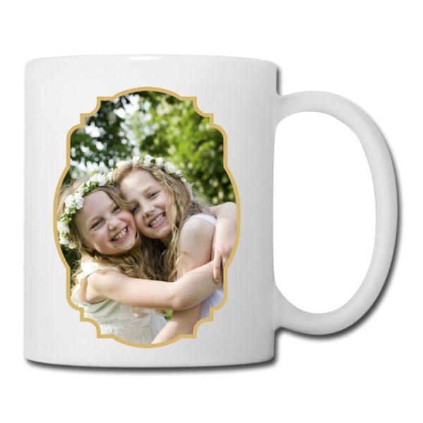 Personalisierte Tasse Weiß mit eigenem Foto
