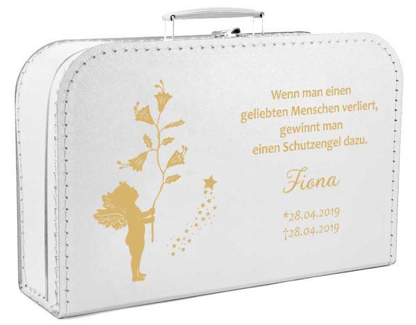 Koffer fürs Sternenkind mit Goldener Engel