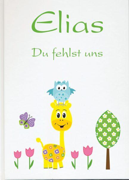 Fotoalbum Sternenkind Giraffe mit Eule