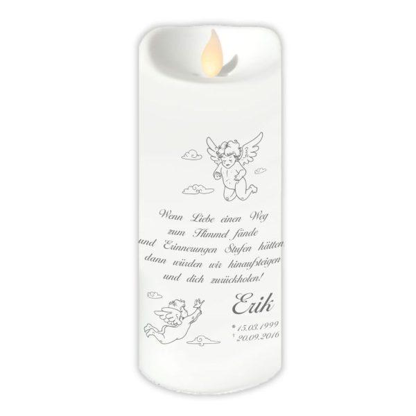 LED Kerze Twinkle Sternenkind Zwei Engel