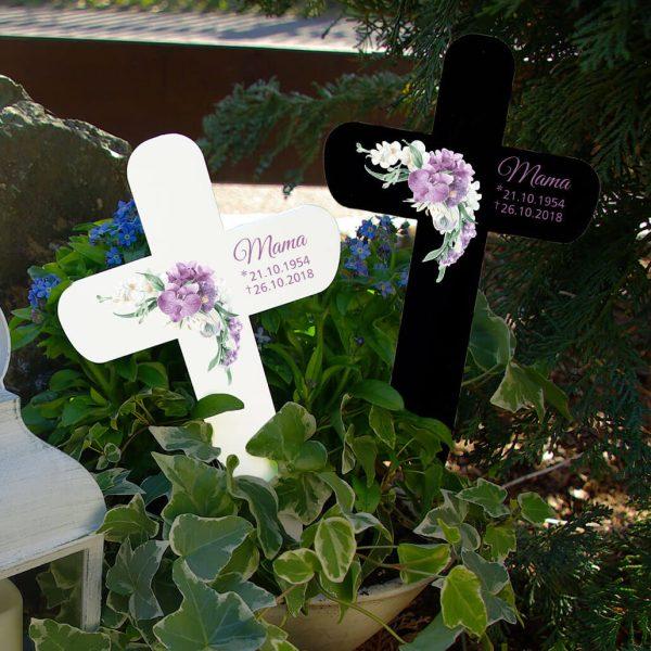 Grabkreuz Orchidee