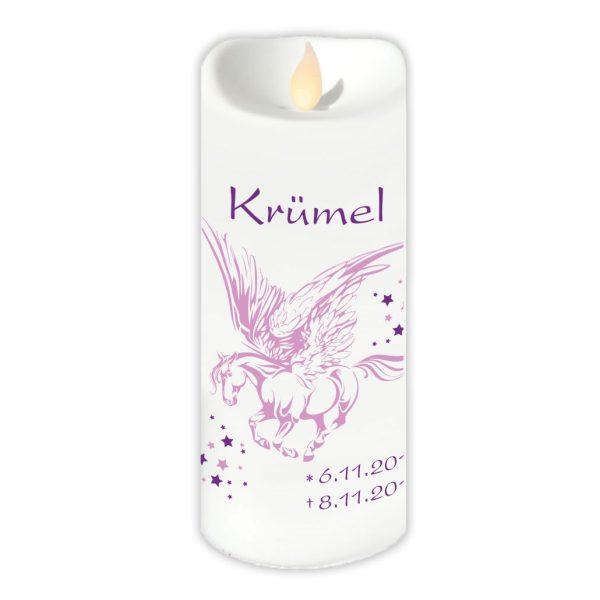 LED Kerze Twinkle Sternenkind Pegasus