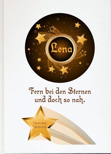 Fotoalbum Sternenkind Sternschnuppe