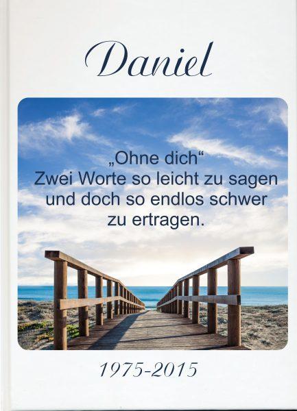 Fotoalbum Erinnerungsbuch Brücke