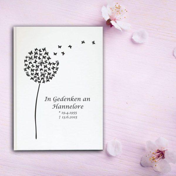 Fotoalbum Erinnerungsbuch Pusteblume